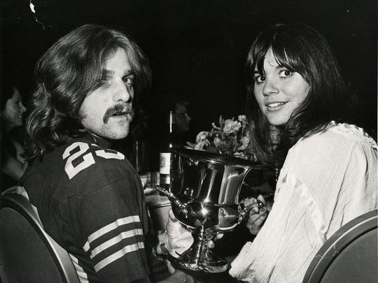 "Linda Ronstadt, right, with Eagles co-founder Glenn Frey in the documentary ""Linda Ronstadt: The Sound of My Voice."" It airs Wednesday on CNN."