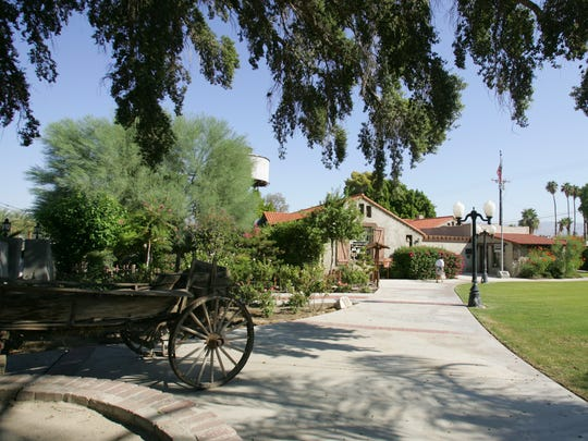 The Coachella Valley History Museum is planning to restore or replace the antique wagon that greets visitors.