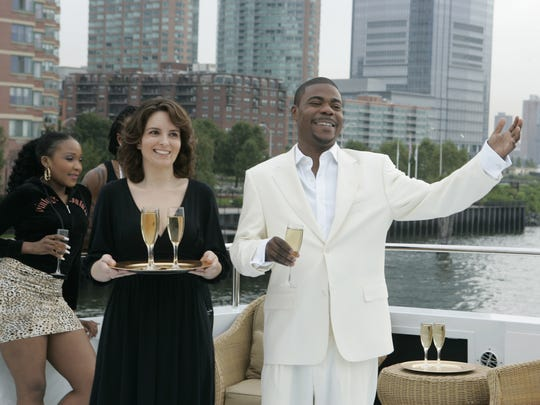 "Tracy Morgan starred with Tina Fey on the NBC television show ""30 Rock."""