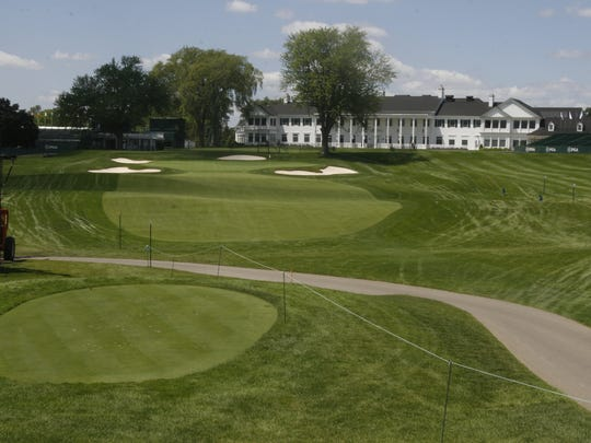 The ninth hole at Oakland Hills Country Club in 2008.