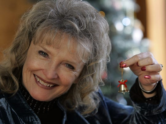 """Karolyn Grimes, who played Zuzu in the movie """"It's a Wonderful Life,"""" will visit Seneca Falls for its annual festival honoring the movie."""