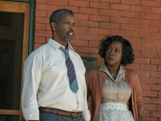 'Fences' star Viola Davis (right, with Denzel Washington) looks primed for her first Oscar win.