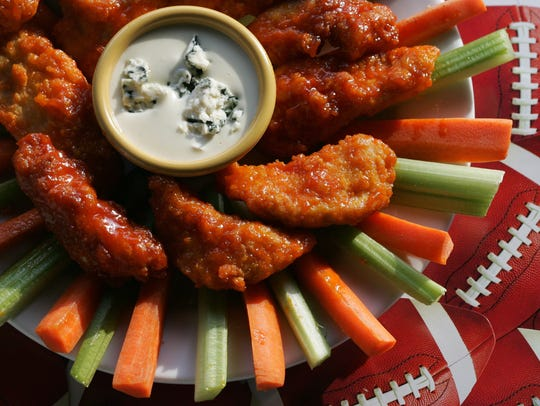 Boneless Buffalo Chicken Wings.