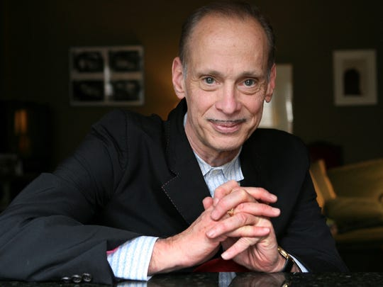 Writer and director John Waters poses for a portrait in New York in 2008.