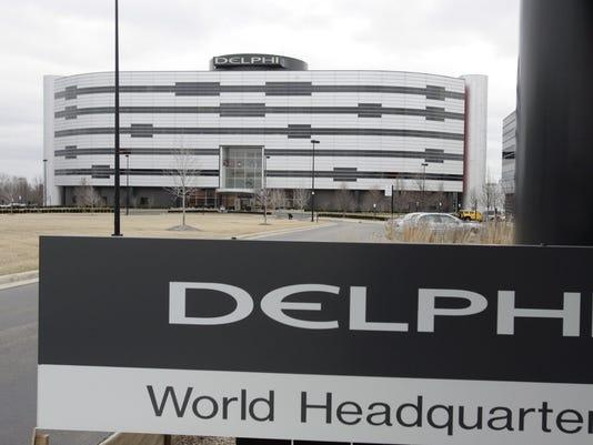 Delphi regional headquarters in Troy