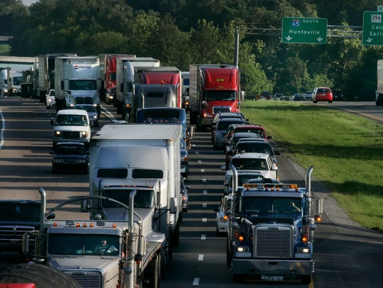 Urban sprawl and traffic congestion have lengthened