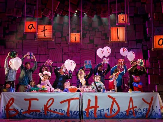 "The Broadway cast of ""Matilda."""