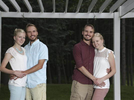 Identical twins marrying identical twins
