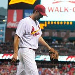 Cardinals pitcher Adam Wainwright has been outstanding for almost the entire season, but the nine earned runs he gave up in two innings last week did major damage to his ERA and WHIP.