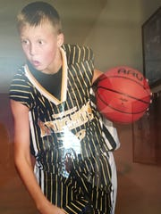 Although his father, Mark, would later break him from the habit, young Luke Kennard always wanted go left when driving to the basket.