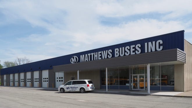 The new 35,000 square foot Matthews Buses Inc. facility in Avon will provide local school transportation staffs with easy access to the parts, training and service they need to keep students safe, the company said following its move from Dansville.