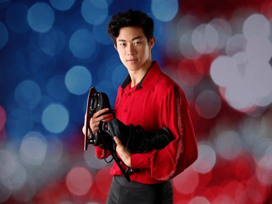 Nathan Chen will compete in his first Olympics in Pyeongchang.