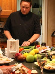 Dan Vogt of Asbury Park started his own personal chef business, Food By Dan, three years ago.