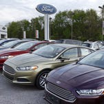 GM, Ford, Fiat Chrysler post April sales declines as cars suffer