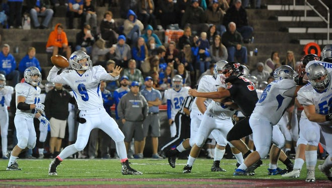 Smoky Mountain's Nate Coffey passed for 309 yards Friday in Canton.