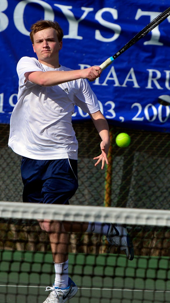 Dallastown's David Trimmer earned a 6-2, 6-4 victory