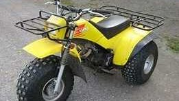 Pictured is a yellow 1988 Yamaha 200E three-wheeler, similar to the one that was recently stolen from behind a business in the town of Rib Mountain.