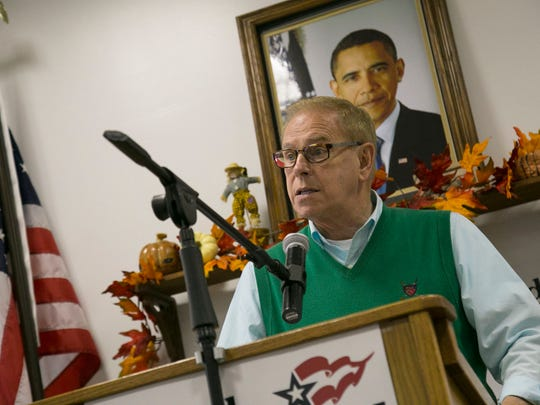 Former Ohio Governor Ted Strickland visited the Richland