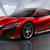Acura shows coming NSX supercar