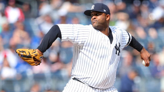 The Yankees called on CC Sabathia to start against the Toronto Blue Jays on Saturday, Sep[t. 30, 2017. He led them to a win.