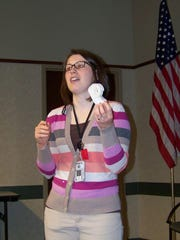 """Reference librarian Meggan Moore, hosting """"Meet the"""