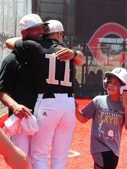 Brady High School head baseball coach Rocky Bernal