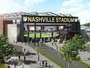 A rendering shows a proposed Major League Soccer stadium at The Fairgrounds Nashville.