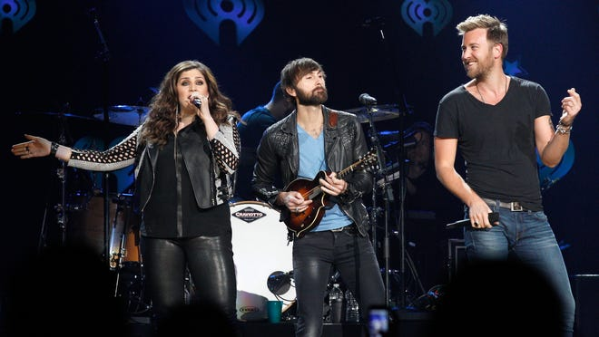 Lady Antebellum will perform on May 16 at Klipsch Music Center.