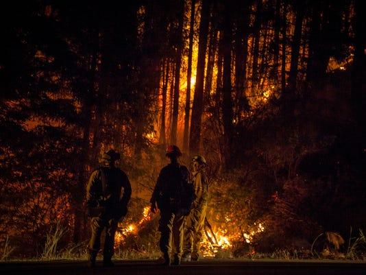 USP NEWS: CARR FIRE A USA CA