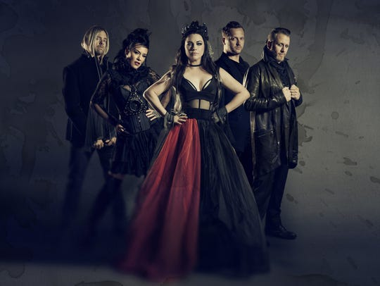 Evanescence has upcoming shows in Camden and Holmdel.