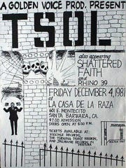 The poster for the first Goldenvoice concert in Santa Barbara.