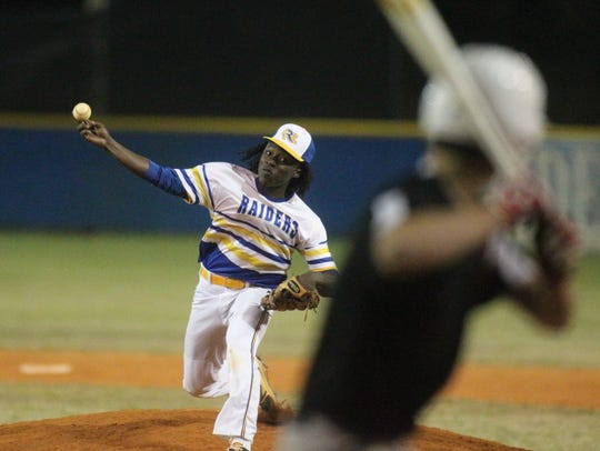 Rickards senior Ferante Cowart, a Florida A&M commit