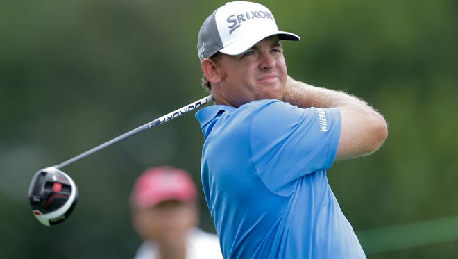 J.B. Holmes' second-round 65 at the BMW Championship moved him inside the top 30 in the FedExCup standings.
