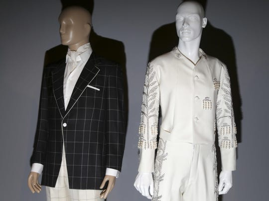 Menswear is included in the exhibit, which runs through May 16.