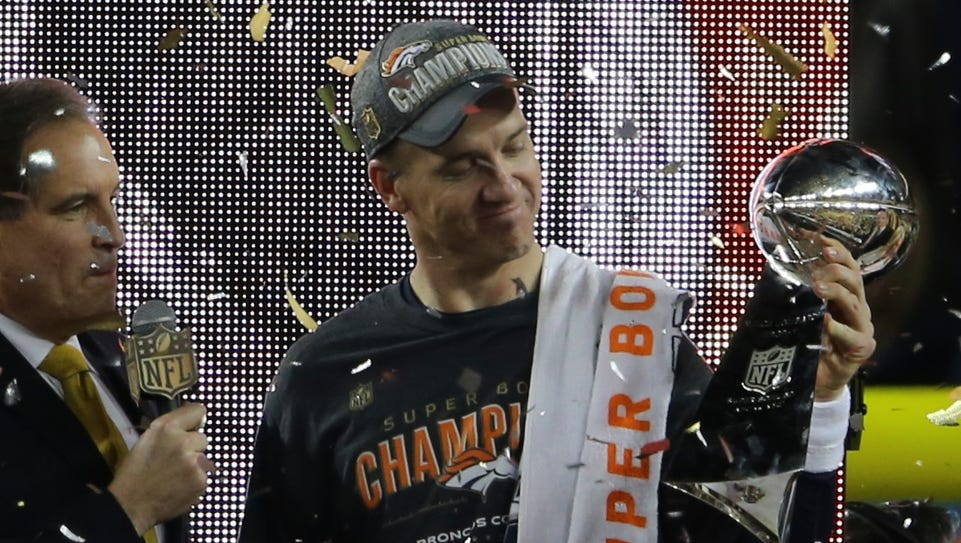Peyton Manning is now a two-time Super Bowl champion.