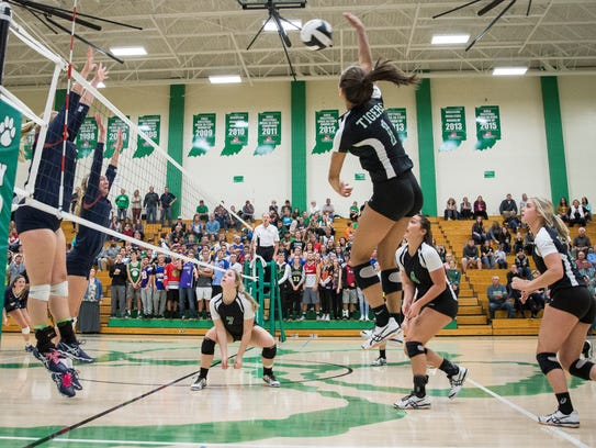 Yorktown defeated Bellmont Tuesday night during the