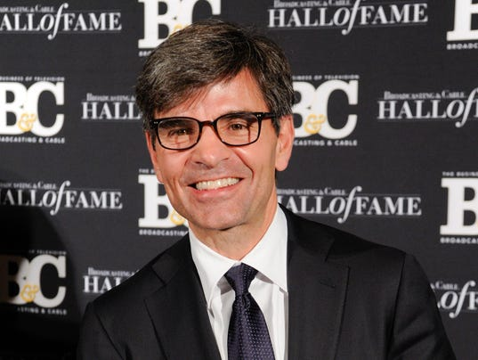 AP ABC-STEPHANOPOULOS A FILE ENT USA NY