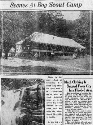 The Greenville News on May 22, 1927.