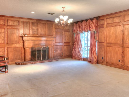 This home at 937 Country Club features several spacious