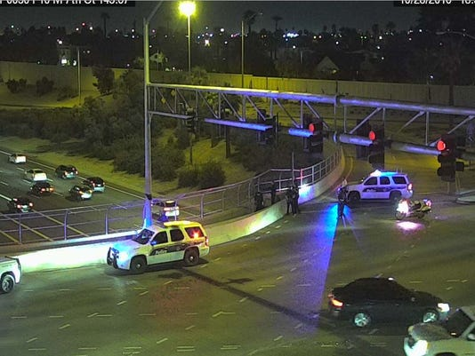 Police situation closes I-10
