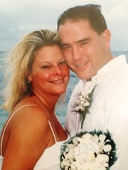 Julie and Harold Balink married in 2000 in Jamaica.