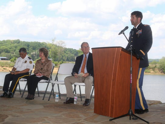 Lt. Col. Stephen Murphy of the U.S. Army Corps of Engineers