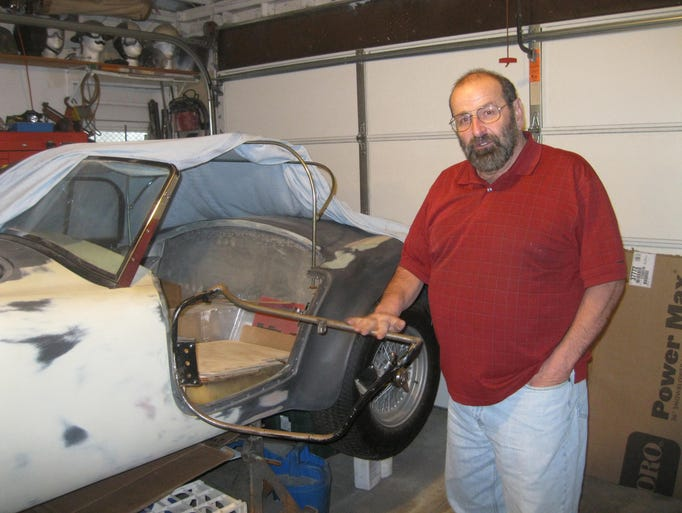Don Ensley of Rochester Hills has been working on his
