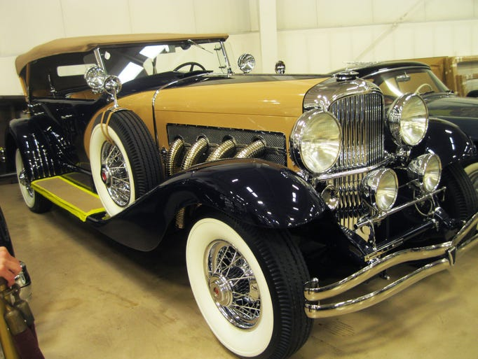 This 1935 Duesenberg Model SJ Dual-Cowl Phaeton has