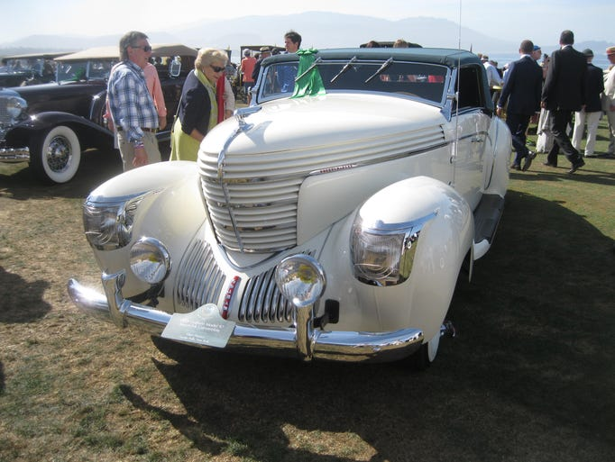 This 1938 Graham Model 97 Saoutchik Convertible is