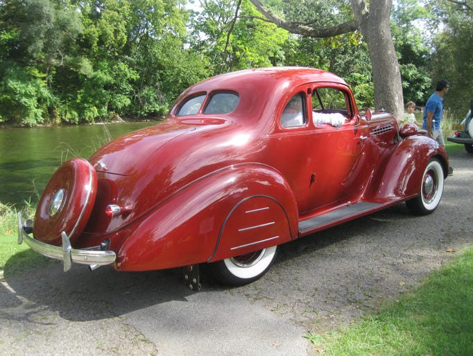Terraplane was Hudson's more affordable brand. This