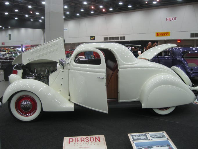 More than 800 custom vehicles are on display at Cobo
