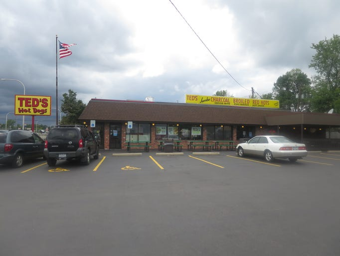 The oldest of the ten Ted's Hot Dog locations, in Tonawanda,