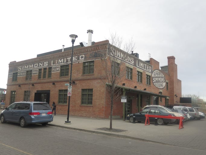 The 110-year-old Simmons mattress factory has been