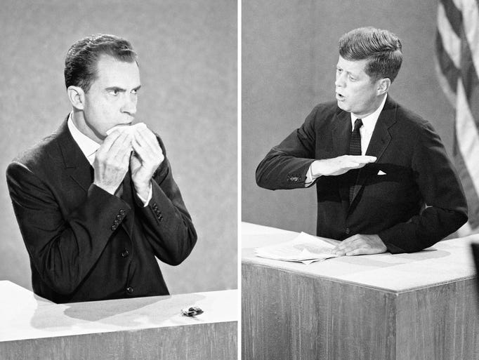 non verbal persuasion in nixon kennedy debate Hogan's analysis came full circle when he took a class in non-verbal communication during the first of four kennedy/nixon in covert persuasion you.